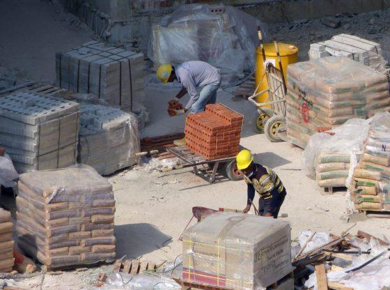 trabalhos construção