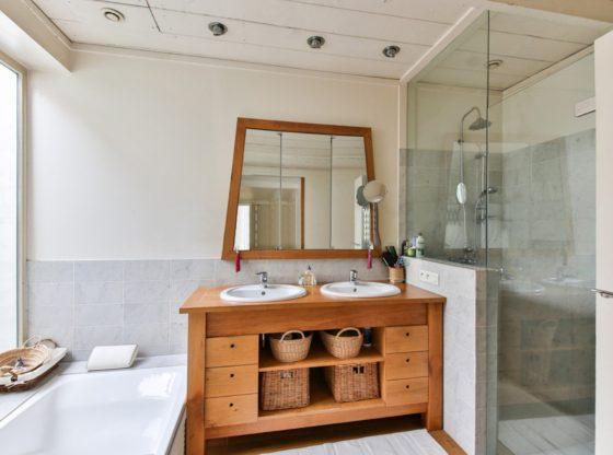 Acabamento e decoração banheiro